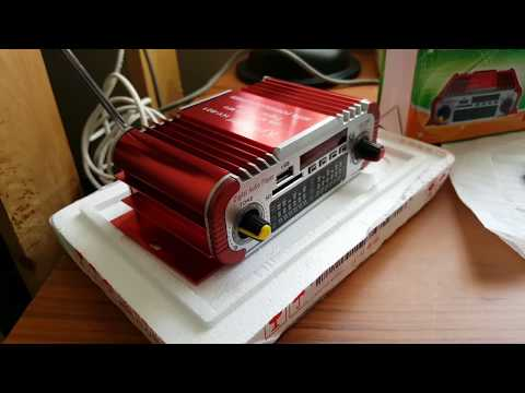 usb sd mp3 fm power amplifier HY-601