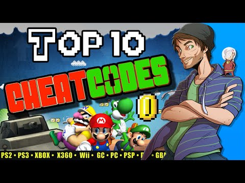 Top 10 Cheat Codes in Video Games - Spacehamster