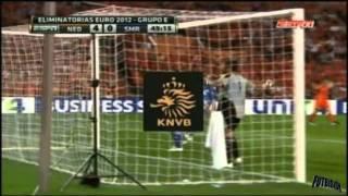 Netherlands vs San Marino 11-0 Euro 2012 Qualifiers [02/09/11] All Goals