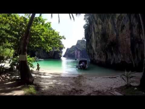 Phang Nga Bay Cruise Thailand Shot with GoPro Black Hero3+