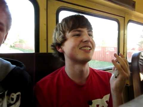 Me rapping WWC on my bus!