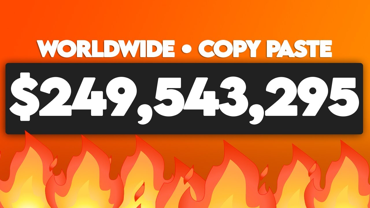 Get Paid To Copy & Paste Websites ($249,543,295.00 Total Paid) Make Money Online
