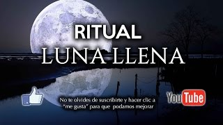 Rituales para la Luna Llena