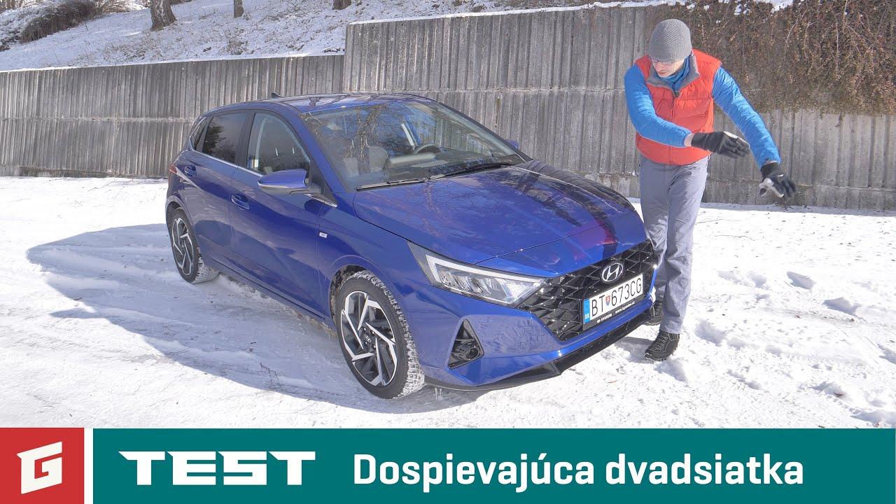 HYUNDAI i20 - 1.0 T-GDi MHEV 48V Style - TEST - GARÁŽ.TV - Šulko