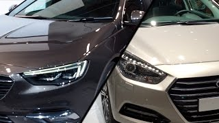 2017 Hyundai i40 Wagon vs. 2017 Opel Insignia Sports Tourer