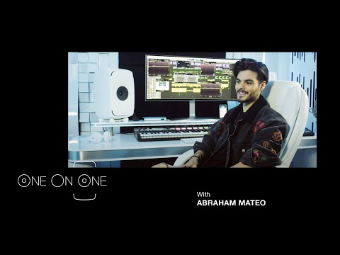 One on One with Abraham Mateo | Genelec 8351| Interview