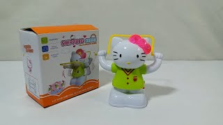 Hello Kitty Skipping a Rope Battery Operated Toy with Light and Music for Kids.