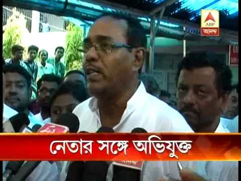 Ilambazar murder accused with TMC MP Subrata Bakshi