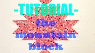 TUTORIAL: The Mountain Block!