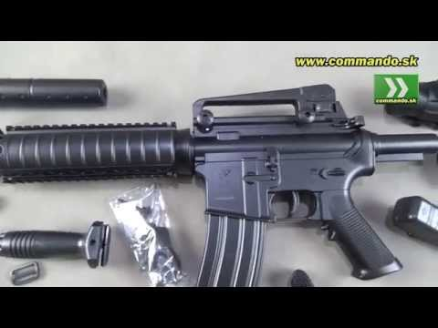 Airsoft Double Eagle DE M83B2 Commando M4 AEG 6mm