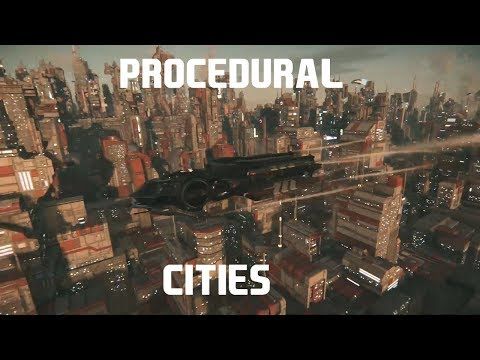 STAR CITIZEN    PROCEDURAL CITIES ARE HERE! (MIC DROP) - YouTube