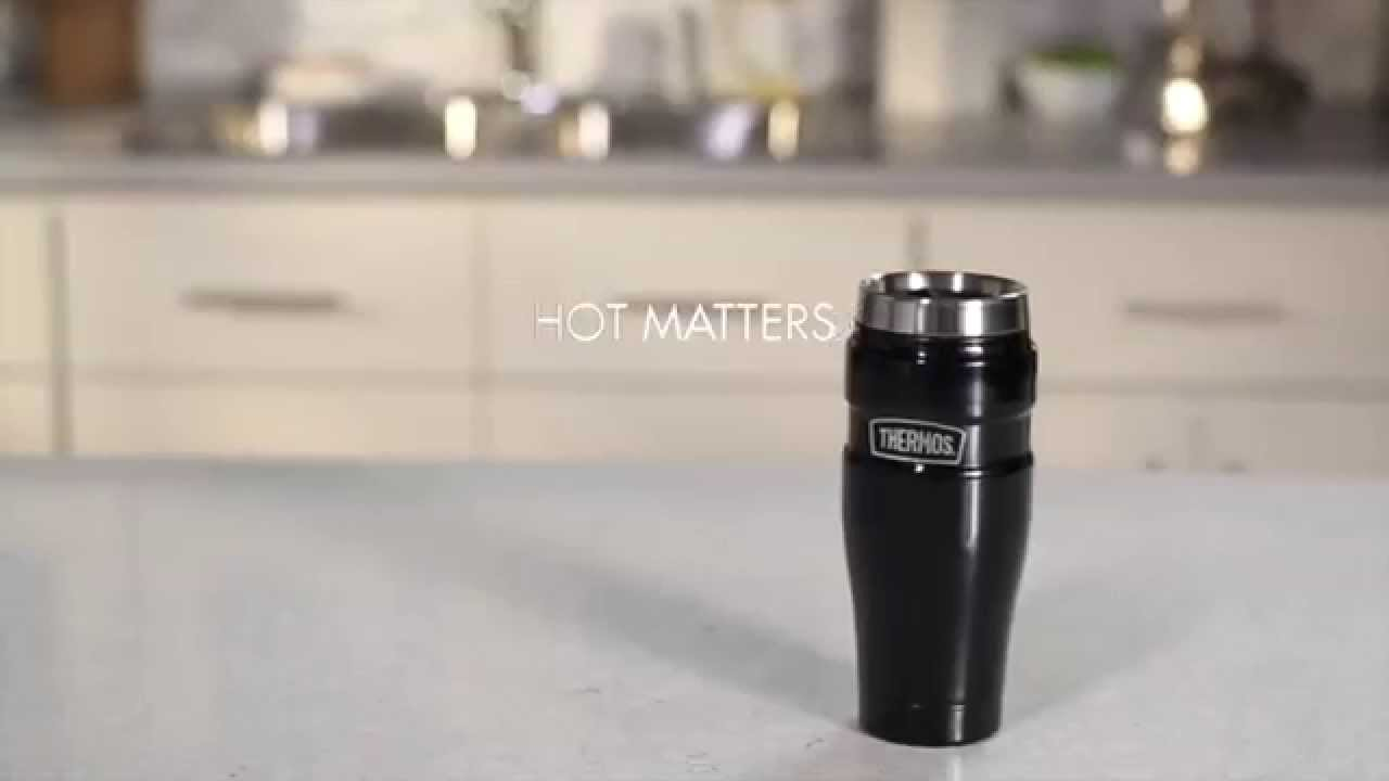 16 Oz Vacuum Insulated Travel Mug And Tumbler Youtube