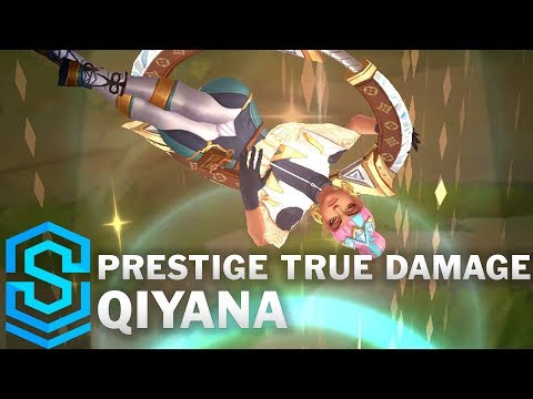 Prestige True Damage Qiyana Skin Spotlight - League Of Legends