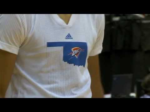 NBA Cares: Thunder Uniforms Honor Moore Tornado Victims