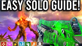 FULL SOLO EASTER EGG GUIDE! FIREBASE Z Cold War Zombies EE Tutorial