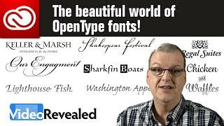 The beautiful world of OpenType fonts!