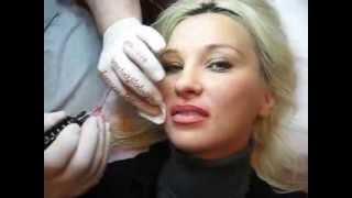Tatuaj buze Zarescu Dan 0745001236 machiaj permanent contur buze http://www.machiajtatuaj.ro