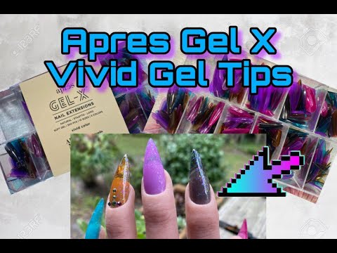 """Applying Apres Gel X NEW """"VIVID"""" Gel Tips! FULL INDEPTH VIDEO. Everything You Need To Know."""
