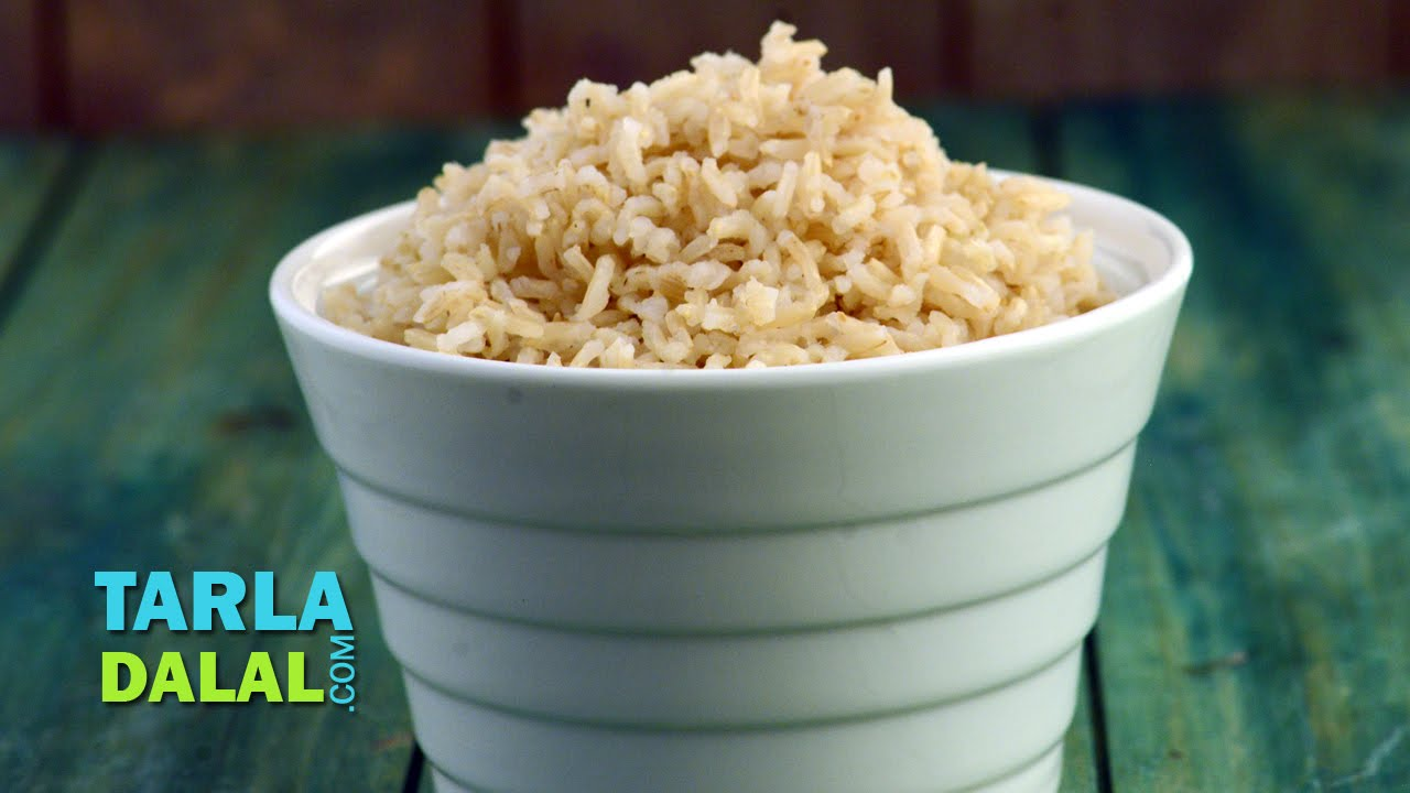 Brown rice high fibre recipe by tarla dalal youtube ccuart Image collections