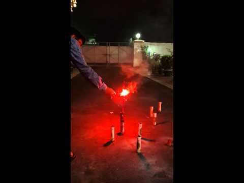 Diwali Rocket Attack..