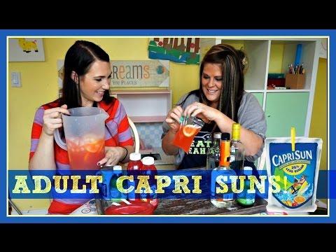 Adult capri sun pinterest drink 102 mamakattv youtube for Cocktail 102