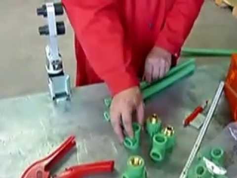 Cách hàn ống PPR, ống nước chịu nhiệt, ống nước nóng