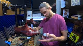 ASMR | What Happens When You Get Saddle Soap on Suede? | World's Finest ASMR Shoe Shine