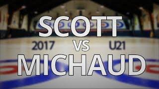 ONT Curling U21 - Scott vs Michaud