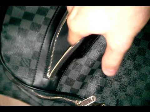 Replica  Louis Vuitton Michael Damier Graphite Backpack  55cheap.com  -  YouTube 63fcf0f1245d8