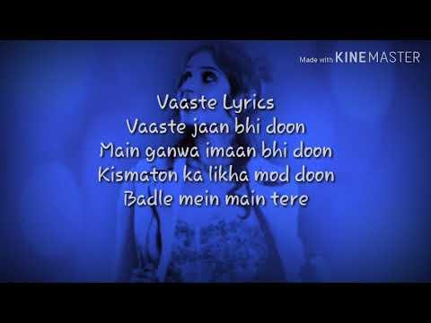 vaaste-lyrics