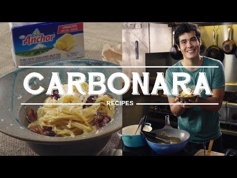 Buttery Spaghetti Carbonara Recipe