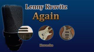 Again - Lenny Kravitz (Karaoke) Video
