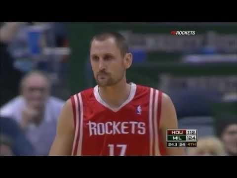 Brent Barry 2008-09 Highlights (Last Season) (Rockets)