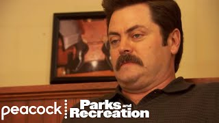 Did Ron Swanson Just Moan in Pleasure? - Parks and Recreation