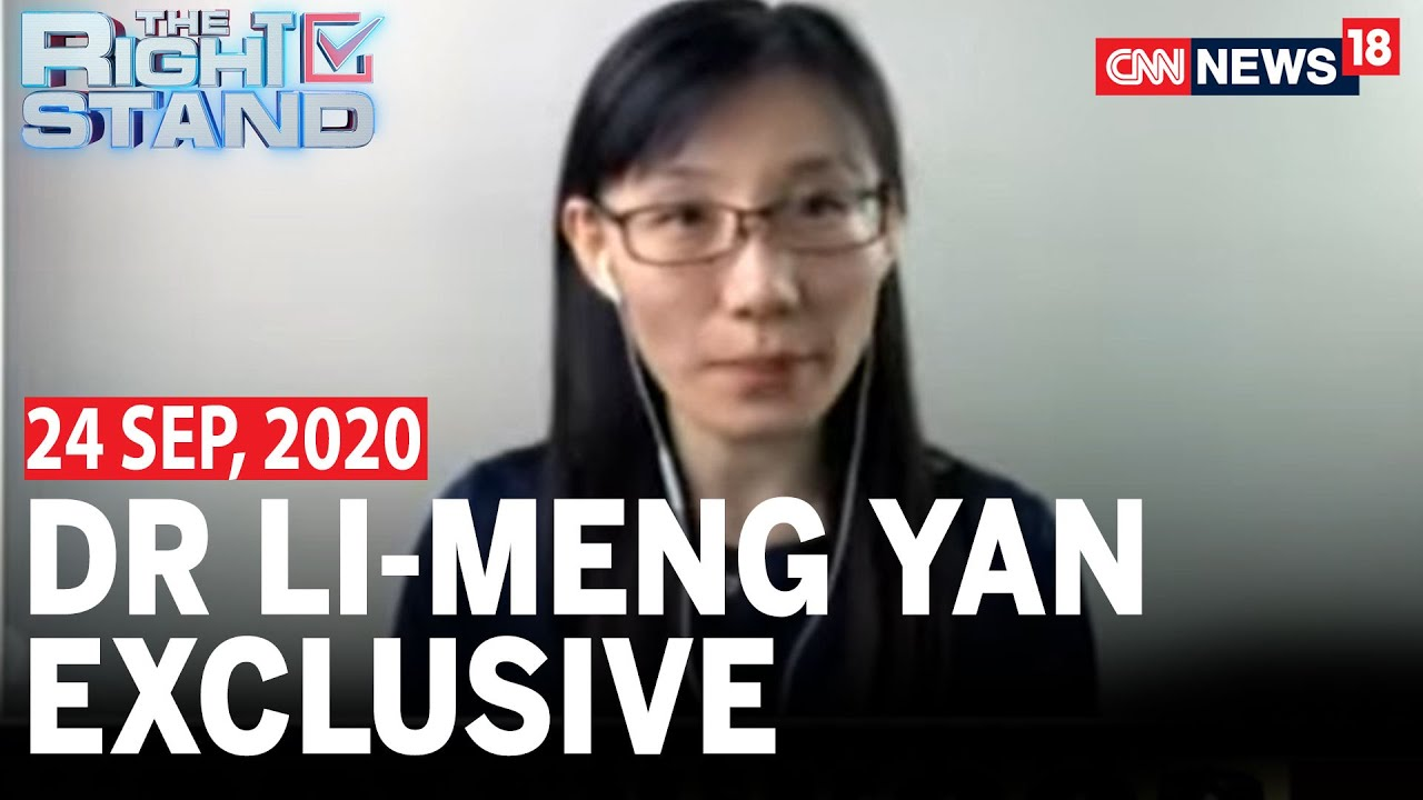 Chinese Virologist Dr.Li Meng Yan Speaks On How COVID-19 Is A Manufactured Virus | The Right Stand