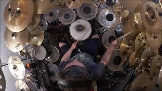 Genesis - Riding The Scree Drum Cover (High Quality Sound)