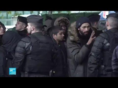فرنسا: ما مصير المهاجرين الذين تم إخلاء مخيماتهم في باريس؟  - 15:56-2019 / 11 / 7