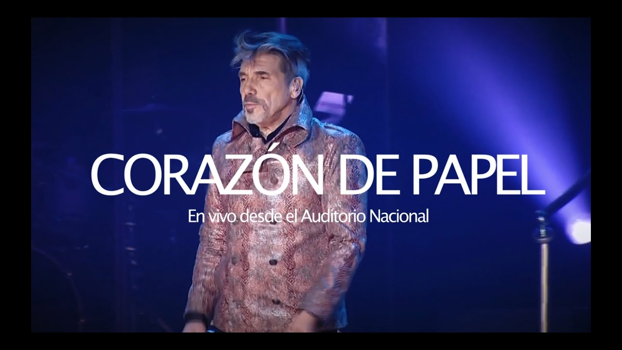 Diego Verdaguer - Corazón De Papel [En Vivo Desde El Auditorio Nacional]