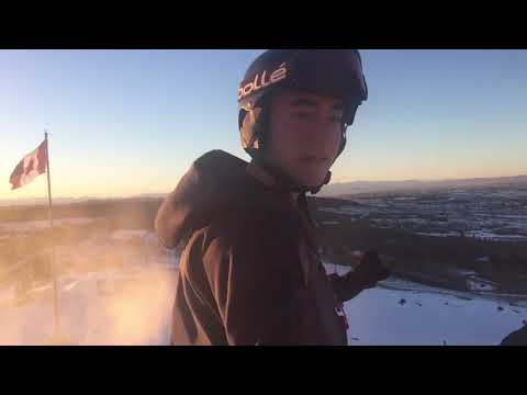 Skiing At Winsport