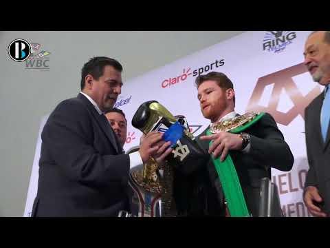 'Canelo' Álvarez ganará 365 millones de dólares por 11 combates en 5 años