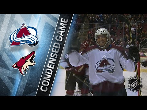 12/23/17 Condensed Game: Avalanche @ Coyotes