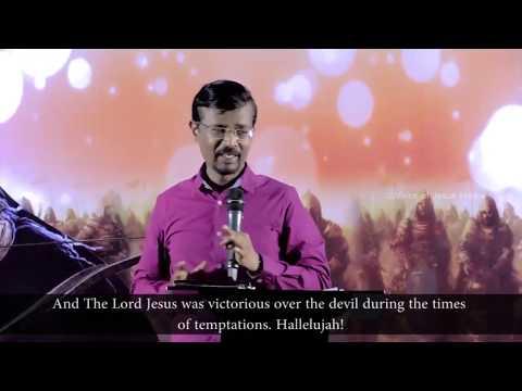 God tests us through Satan (English subtitles) - Bro  Vincent Selvakumar