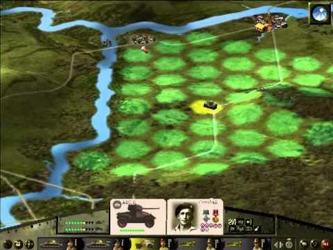 Panzer General 3D Assault - Montgomery s11 - Defensive fail!