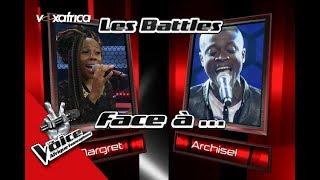 Archisel vs Margret « ALEA MBA » de Charlotte Dipanda Les Battles   The Voice Afrique 2017