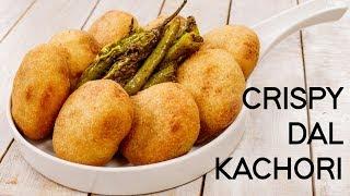 Suji Kachori Recipe - Crispy Rajasthani Moong Dal Khasta Kachauri - CookingShooking