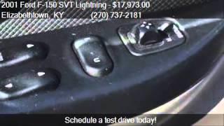 2001 Ford F-150 SVT Lightning Base 2dr Regular Cab 2WD Flare