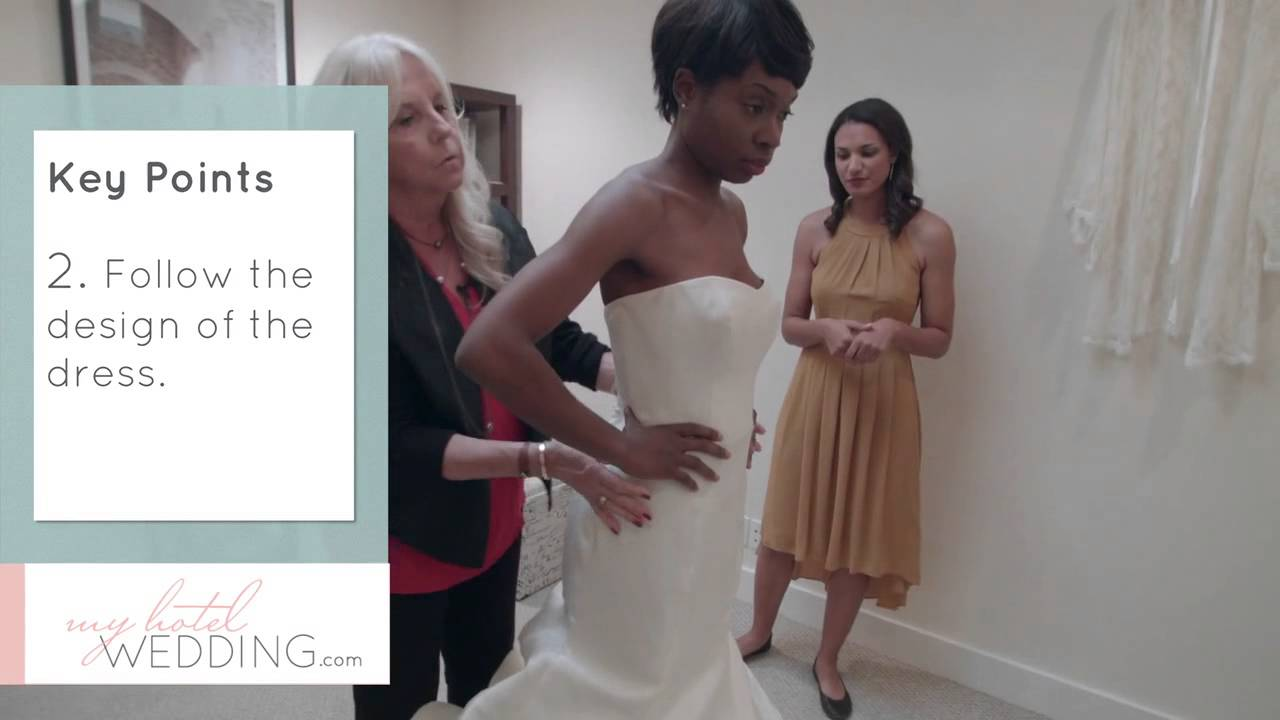 Altering Your Wedding Dress 101 with A Stitch in Time - YouTube
