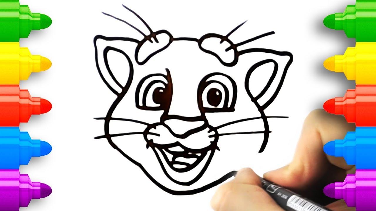 Talking Tom Heroes Coloring Page🖍Youtube🔗link in my bio : artwork | 720x1280