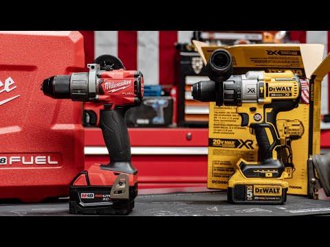 Milwaukee Vs Dewalt Hammer Drill