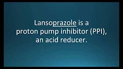 How to pronounce lansoprazole (Prevacid) (Memorizing Pharmacology Flashcard)